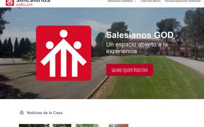 Salesianos Godelleta lanza su nueva web